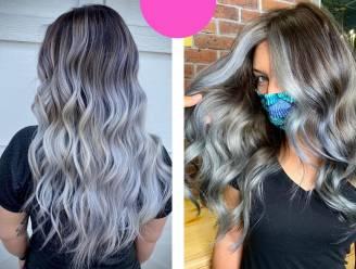Van 'silver vixens' tot titanium: In 2021 is grijs haar officieel hip, bewijst nieuwe populaire haarkleur