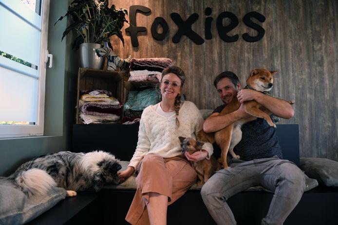 Jelle en Willem van hondenspeciaalzaak Foxies