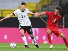 Le Danemark, adversaire de la Belgique à l'Euro, partage contre l'Allemagne
