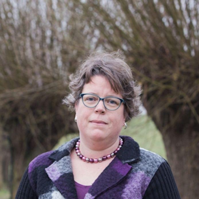 Waddinxveens raadslid Sylvia van de Krol.