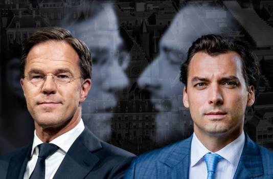 Debat Rutte-Baudet: fel en persoonlijk | Europese verkiezingen | AD.nl