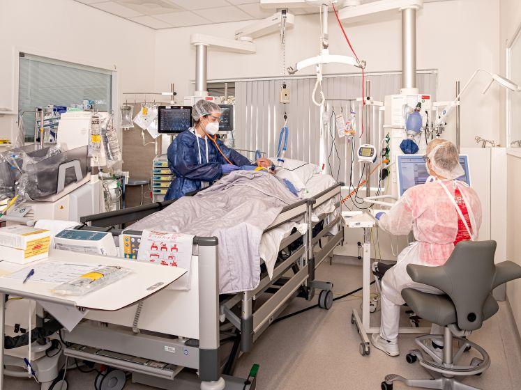 Units intensive care in Meander weer samengevoegd door daling Covid-patiënten