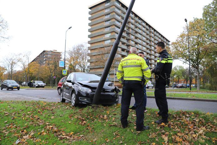 Ongeval op Generaal Spoorlaan in Rijswijk eind vorig jaar. Foto ter illustratie.