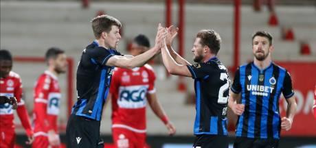 Une fusée, un penalty: victoire étriquée pour Bruges à Courtrai