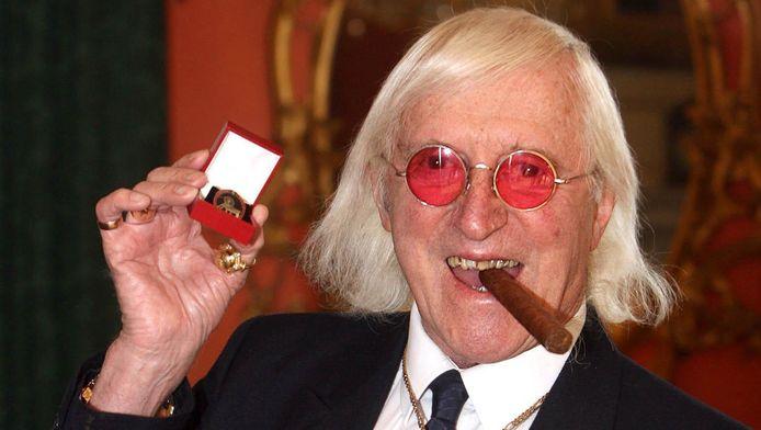 Een foto van Jimmy Savile in 2008