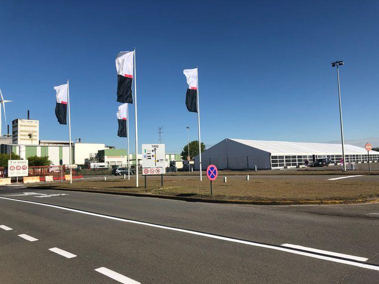 Chemiebedrijf Lanxess in de Antwerpse haven.