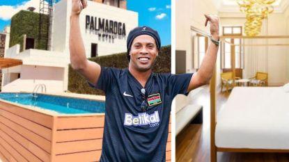 Huisarrest lijkt eerder luxevakantie: Ronaldinho vertoeft in viersterrenhotel met cocktailbar en rooftopzwembad