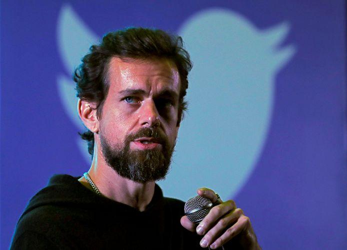 Twitter-baas Jack Dorsey, archiefbeeld.