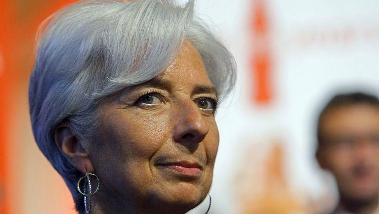 Christine Lagarde Beeld ap