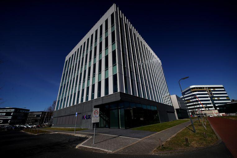 Het Halix-gebouw in Leiden. Beeld Getty Images