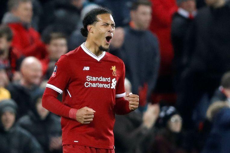 De Nederlandse verdediger Virgil Van Dijk  ging voor 85 miljoen euro naar Liverpool. Beeld Photo News
