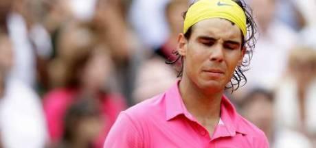 Nadal, méconnaissable, déjà éliminé