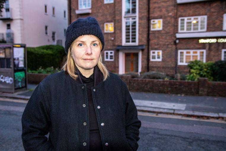 Nicola Jeffs uit Brighton: 'Immigratie is juist een verrijking. Mijn vrienden komen overal vandaan.' Beeld Jeroen Bosch