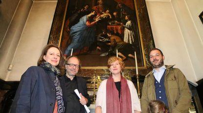 Schilderijen in basiliek gereinigd voor permanente tentoonstelling