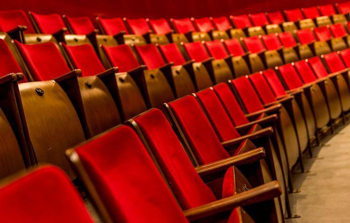 De theaterzaal van Koninklijk Theater Carre.