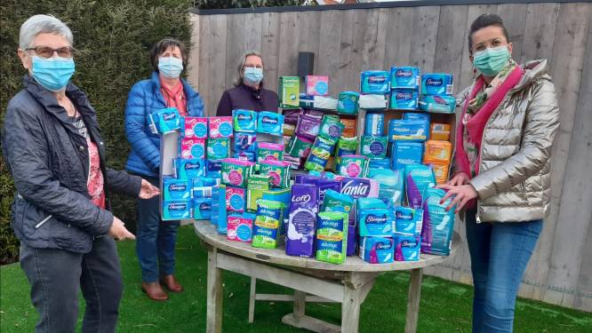 Doneerbox in VrijeTijdsPunt moet probleem van menstruatie-armoede aankaarten