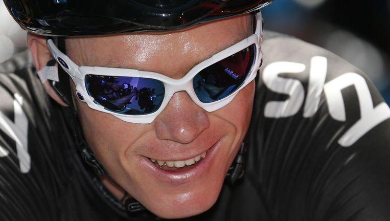 Chris Froome verpulvert de concurrentie. Beeld afp
