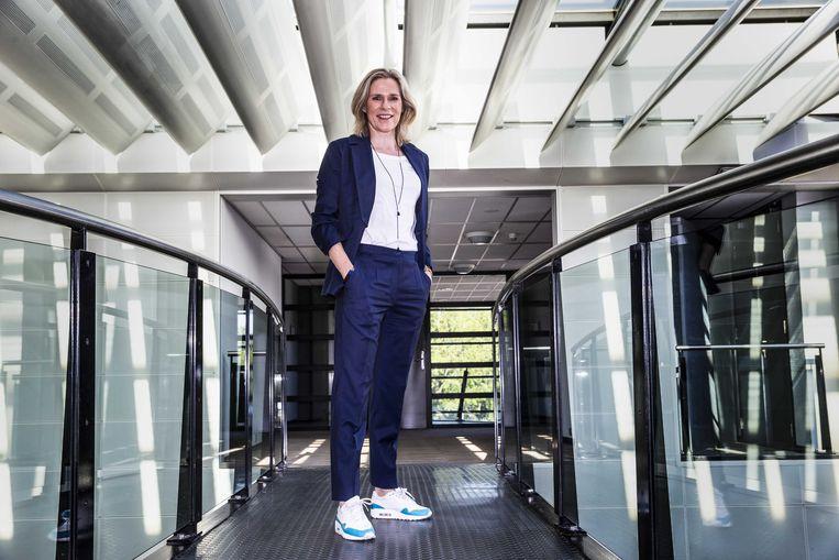 Jolanda Jansen, directeur van Ahoy Rotterdam en woordvoerder van de Alliantie van Evenementenbouwers. Beeld ANP