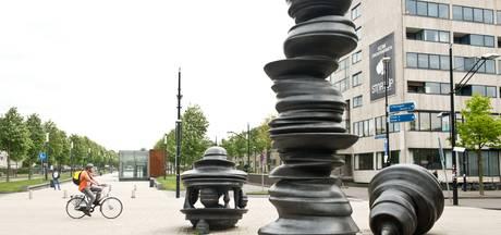 Kunstwerk op Stationsplein Nijmegen gaat opnieuw verkassen