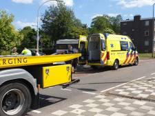 Persoon raakt gewond bij botsing tussen auto en vrachtwagen in Hengelo