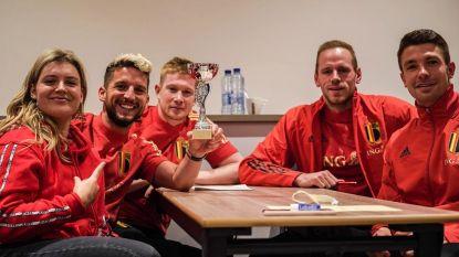 Rode Duivels krijgen 'crème de la crème' van Belgische topsport over de vloer voor quiz