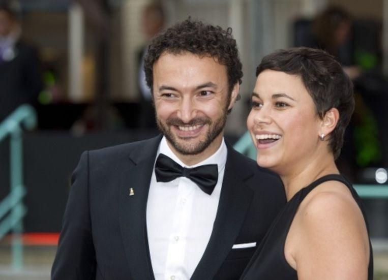 Nasrdin Dchar en zijn vrouw. Beeld ANP
