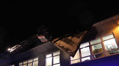 Ook Dennis richt schade aan: Dak van school in Heizijde komt deels los, tientallen oproepen voor omgewaaide bomen en gesneuvelde dakpannen