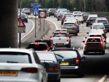 Automobilisten kunnen hun borst natmaken: de files komen er weer aan