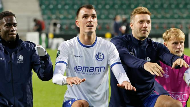 """Lemajic meteen beslissend voor AA Gent bij eerste basisplek: """"Mijn transfer was ook voor mij een verrassing"""""""