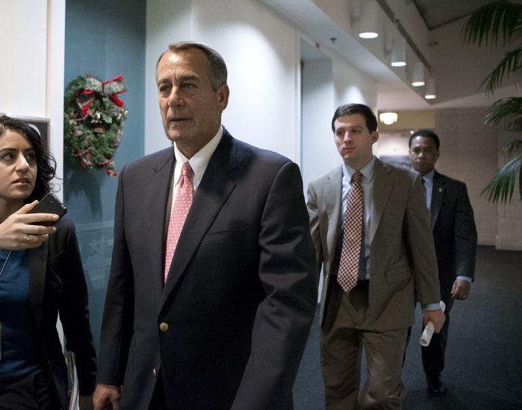 De Republikeinse leider John Boehner Beeld ap