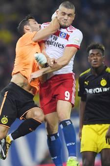 Borussia Dortmund blijft koploper in Bundesliga na zege bij HSV