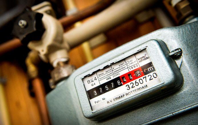 Een energiemeter ter illustratie.