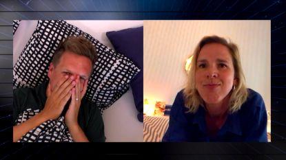 """Tine Embrechts denkt dat ze corona heeft gehad: """"Ik was heel bang"""""""