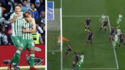 VIDEO. Ervaren rot Joaquin krult hoekschop meteen in doel, maar toch blijft Betis met wrang gevoel achter in Copa del Rey