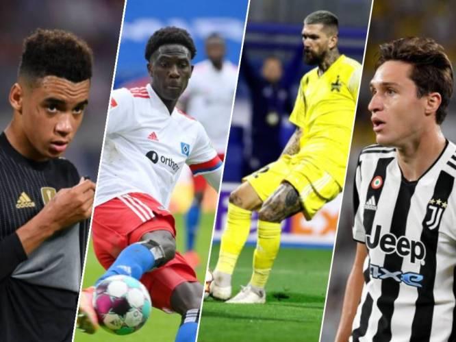 Tien om te zien in de Champions League: van een oude bekende van KV Mechelen over de kapitein van de Belgische U21 tot een recordman van Bayern