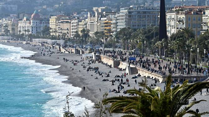 Kustgemeenten Côte d'Azur komende twee weekends deels afgesloten