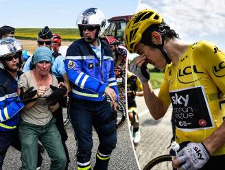 Opschudding in de Tour: renners krijgen traangas in ogen na boerenprotest