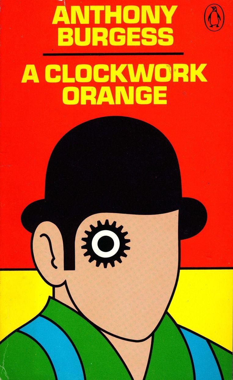 Anthony Burgess: A Clockwork Orange. Ontwerp David Pelham. Penguin, 1972. Beeld