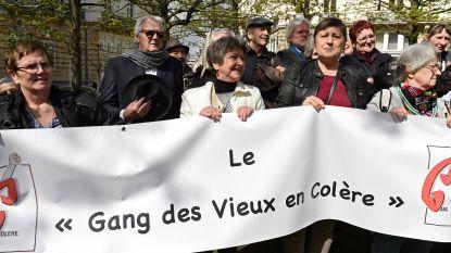 Flashmob in Brussels winkelcentrum om te protesteren tegen fiscale politiek regering-Michel
