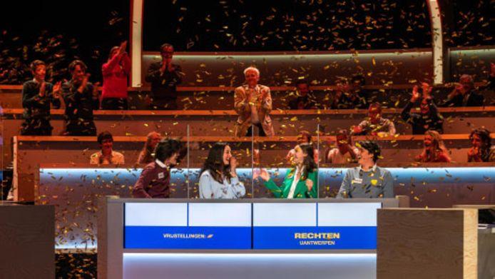 De rechtenstudenten van UAntwerpen wonnen de finale van de Campus Cup.