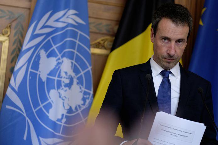 Philippe Goffin, le ministre des Affaires étrangères (MR).
