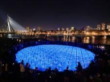 Met ademend licht worden ook in Breda en Geertruidenberg slachtoffers Holocaust herdacht