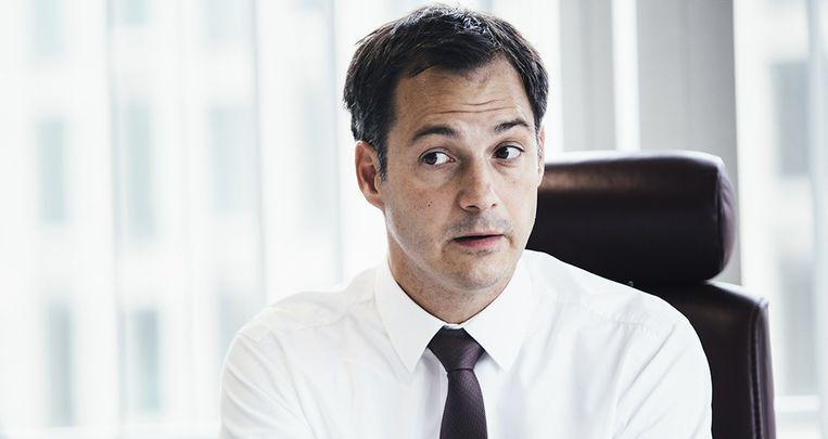 Vicepremier Alexander De Croo (Open Vld). Beeld Joris Casaer