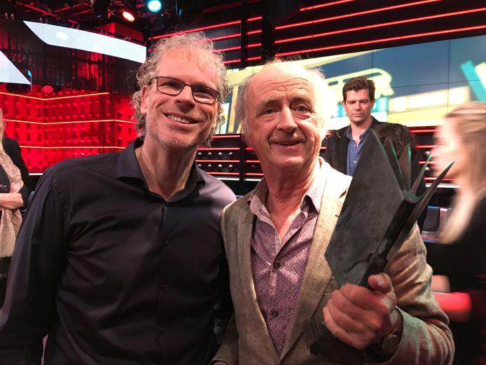 Frank Krake (links) met de winnaar