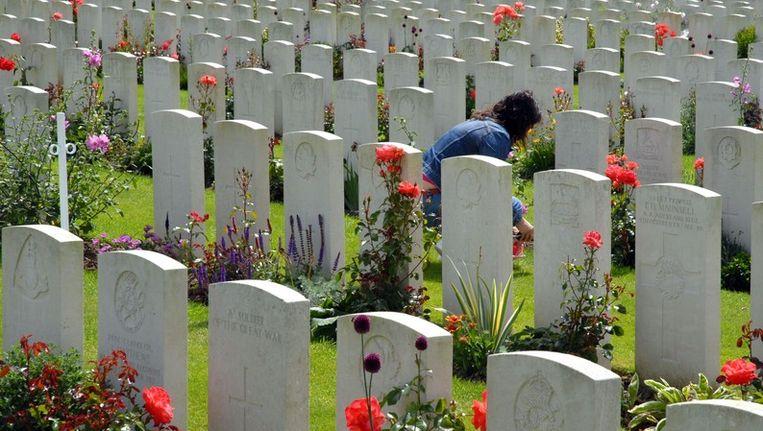 In het West-Vlaamse plaatsje Passendale ligt Tyne Cot Cemetery, de grootste Britse militaire begraafplaats op het Europese vasteland.