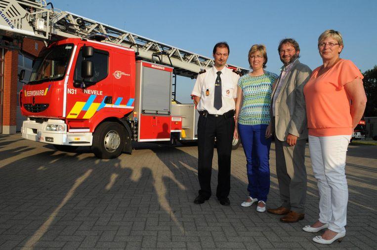 Ann Coopman en Johan Cornelis (rechts): nu in de zone Meetjesland, maar hoe lang nog?