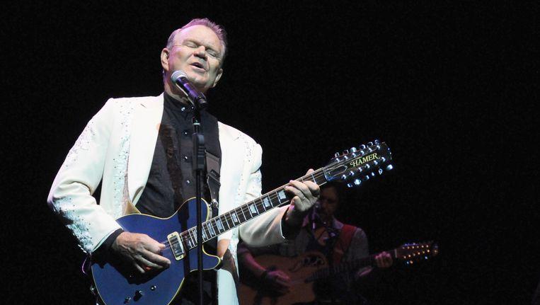 Glen Campbell is 81 jaar geworden. De zanger leed al enkele jaren aan Alzheimer. Beeld photo_news