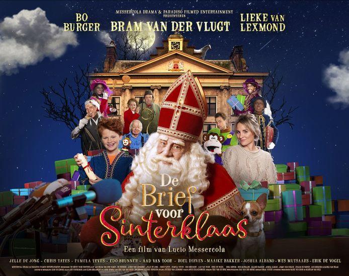 Poster van de film De Brief voor Sinterklaas die deels in Leerdam is opgenomen.