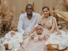 Usain Bolt papa de jumeaux, Thunder et Saint Leo