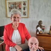 Diamanten huwelijk: Verloren vestje bracht Martien en Mien bij elkaar